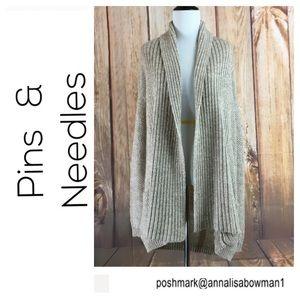 🐞Pins & Needles knit cardigan sweater size M